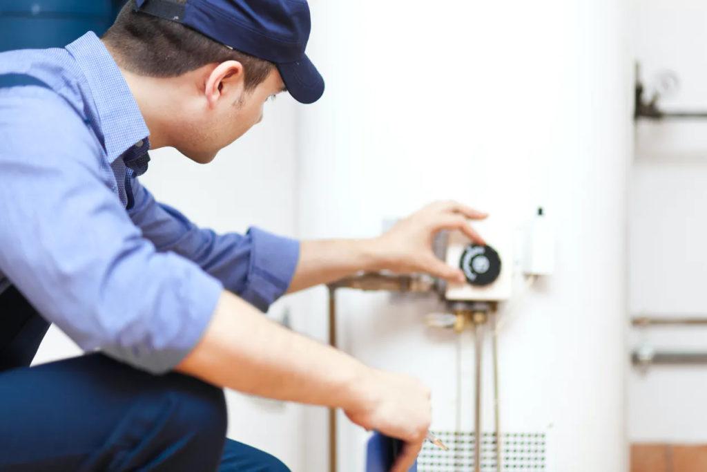 Installation de chaudière, pompe à chaleur