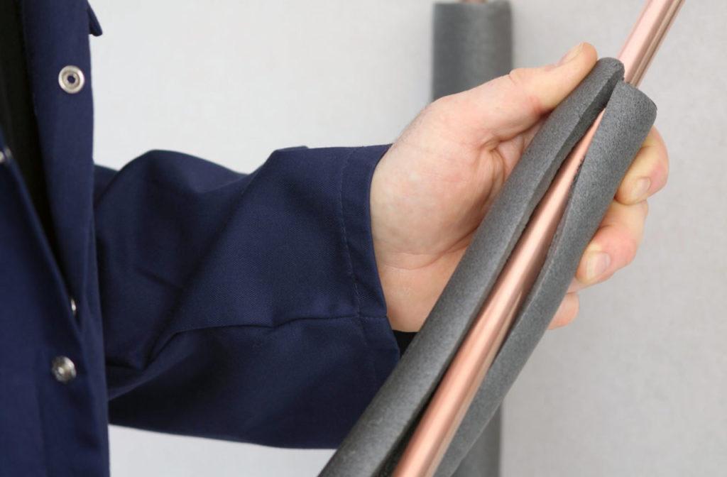 COP38 propose le calorifugeage de votre tuyauterie